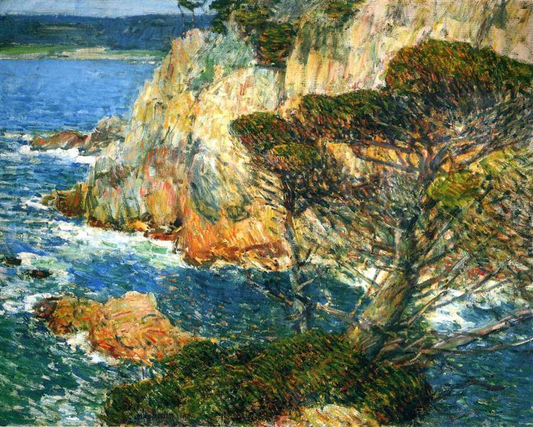 Point Lobos, Carmel, 1914 - Childe Hassam