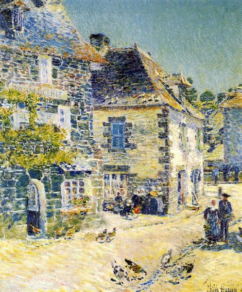 Pont-Aven, Noon Day, 1897 - Childe Hassam