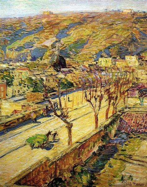 Posilippo, 1897 - Childe Hassam