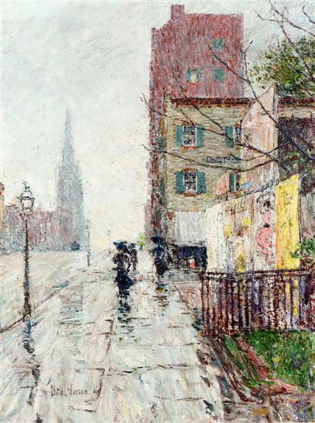Rainy Day, 1890 - Childe Hassam