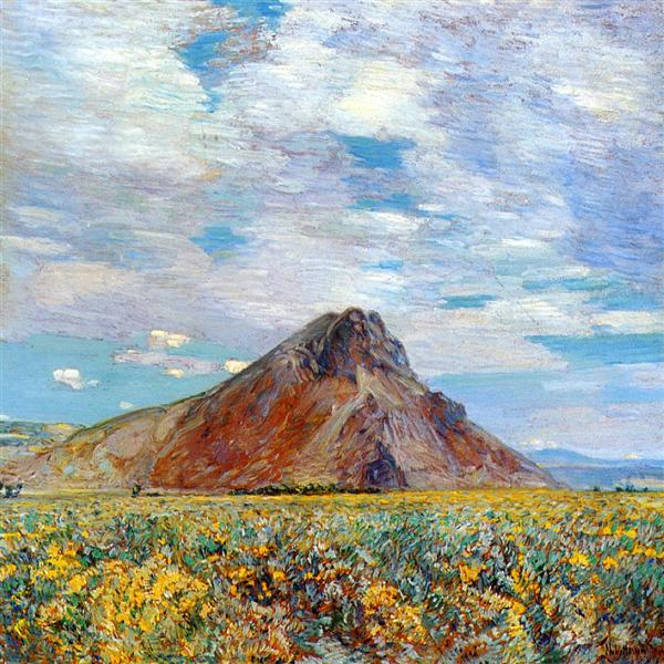 Sand Springs Butte, 1904 - Childe Hassam