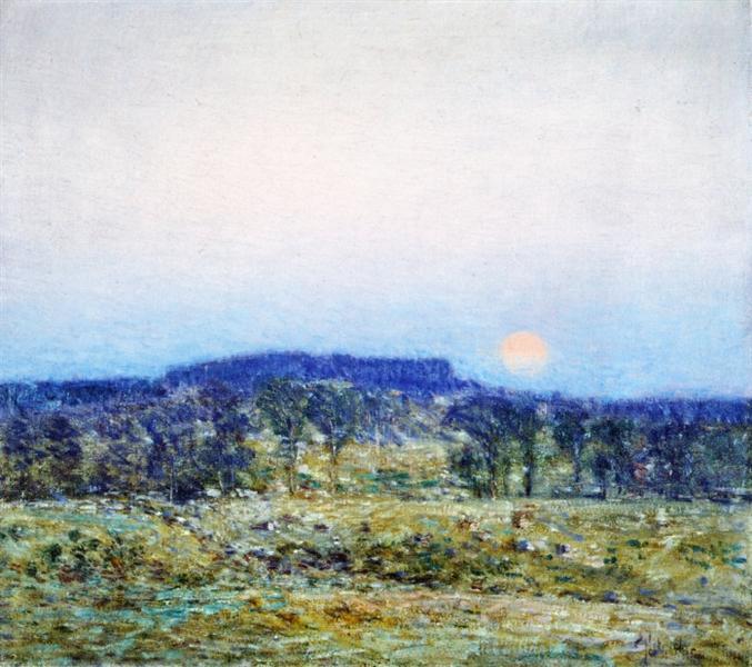 September Moonrise, 1900 - Childe Hassam
