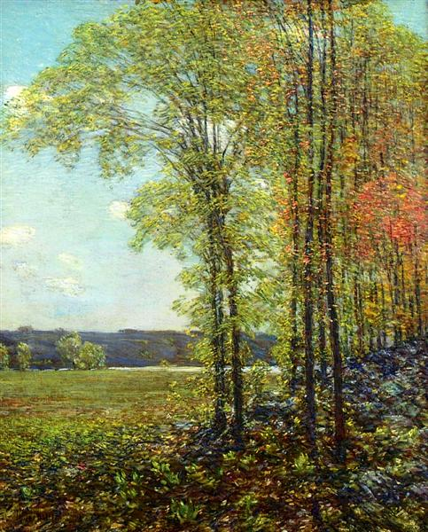 Spring at Old Lyme, 1906 - Childe Hassam