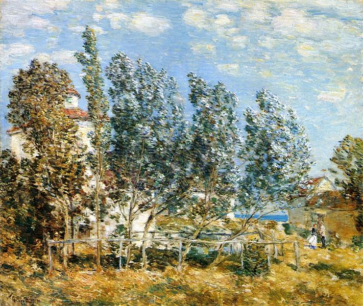 The Southwest Wind, 1905 - Childe Hassam