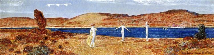 Wild Swans Sacred to Apollo, 1921 - Childe Hassam