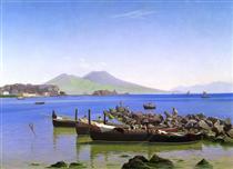 Bay of Naples - Christen Købke
