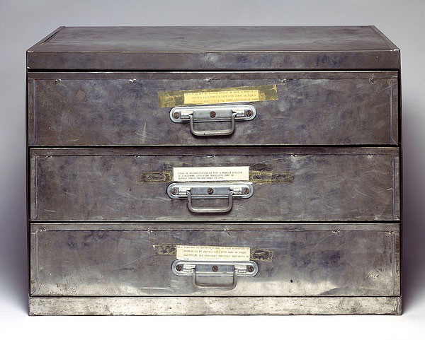 Attempt at Recreation (Three Drawers), 1971 - Christian Boltanski
