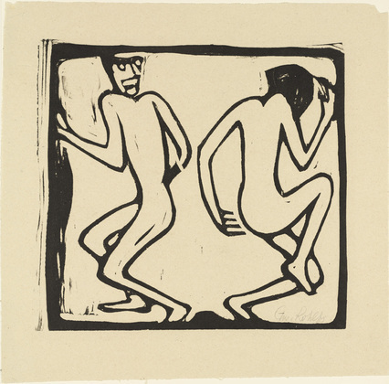 Two Dancers - Christian Rohlfs