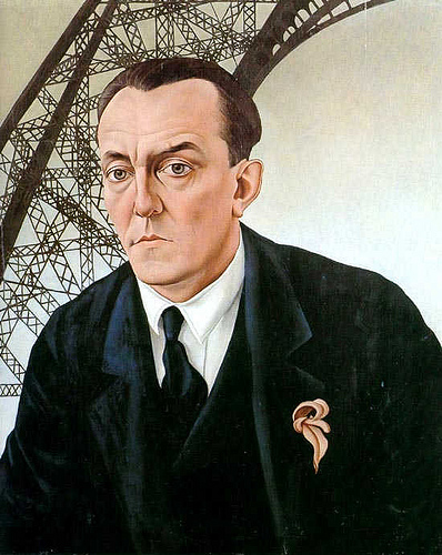 The composer Josef Matthias Hauer, 1929 - Christian Schad