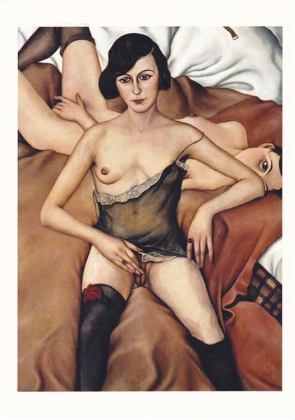 Zwei Mädche, 1928 - Christian Schad