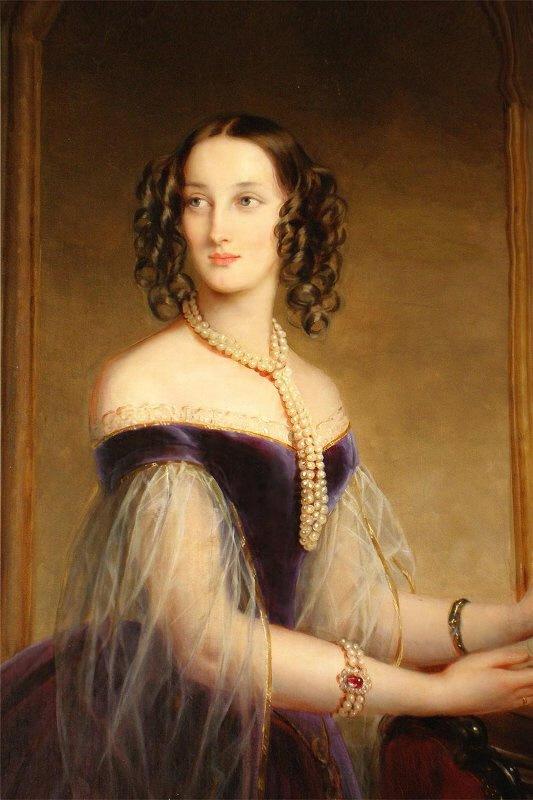 Maria Nicolaevna, Duchess of Leuchtenberg, 1845