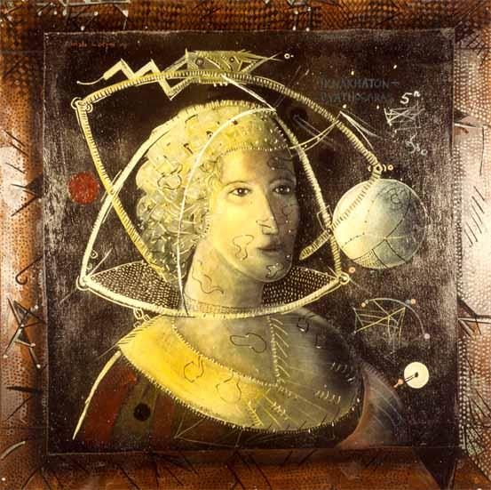 Iknakhaton - Pythagoras, 1979 - Christo Coetzee