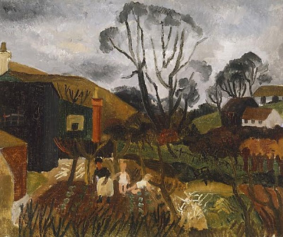 Cottages in Cornwall, 1928 - Christopher Wood