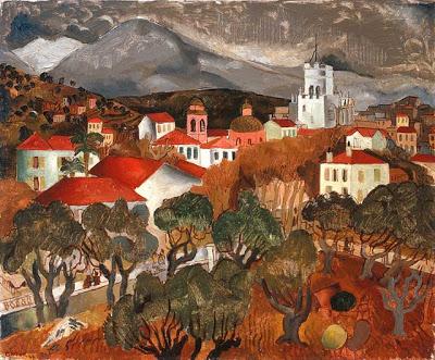 Landscape near Vence, 1927 - Christopher Wood