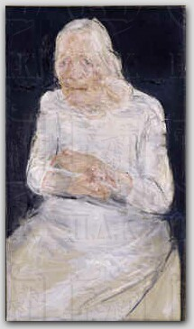 The artist's mother, 1988 - Chronis Botsoglou