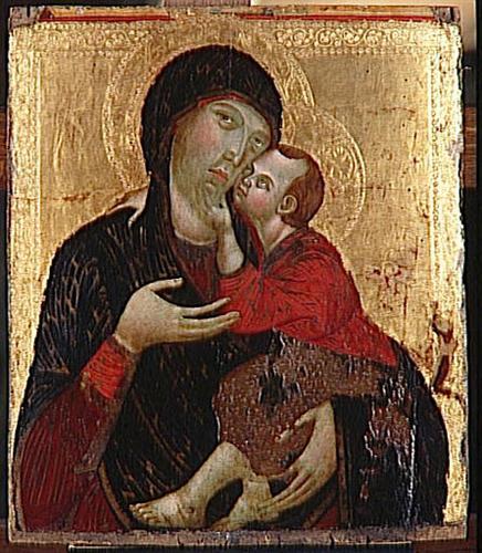 Virginand Child - Cimabue
