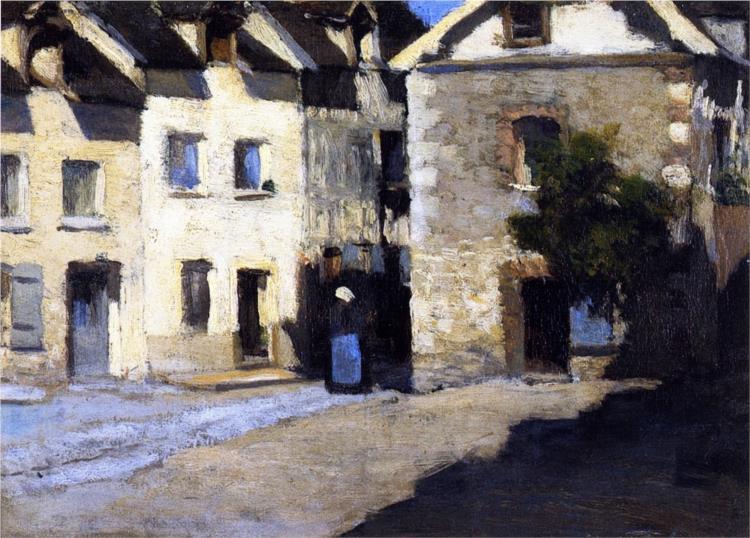 Street Scene, Granada, 1904 - Clarence Gagnon