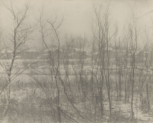 Factory Town in Winter, 1906 - Clarence White