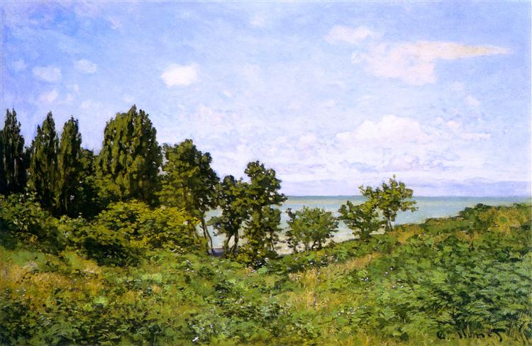 By the Sea - Claude Monet