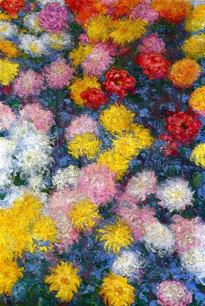 Chrysanthemums, 1897 - Claude Monet