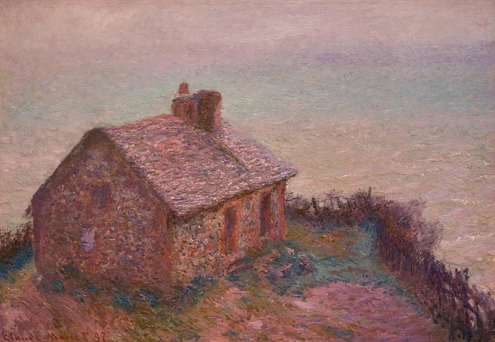 pintar-paisajes-impresionismo-Monet, El color y la atmósfera al pintar paisajes en el impresionismo