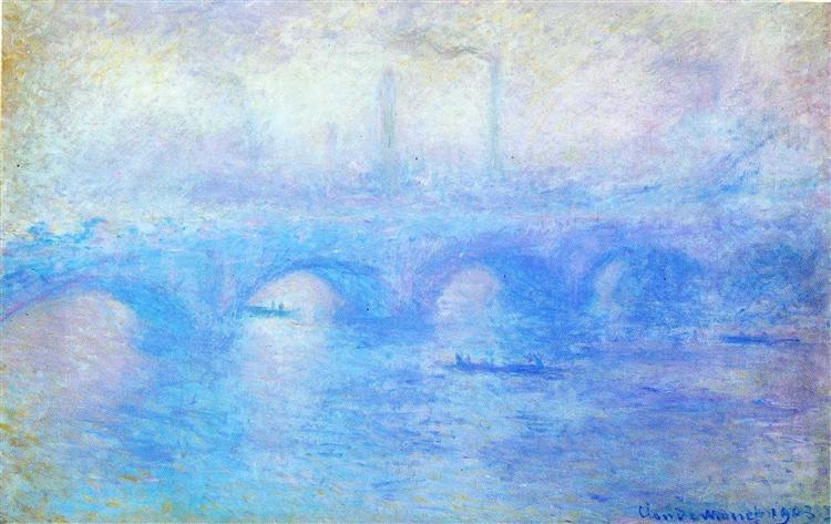 Waterloo Bridge, 1903 - Claude Monet