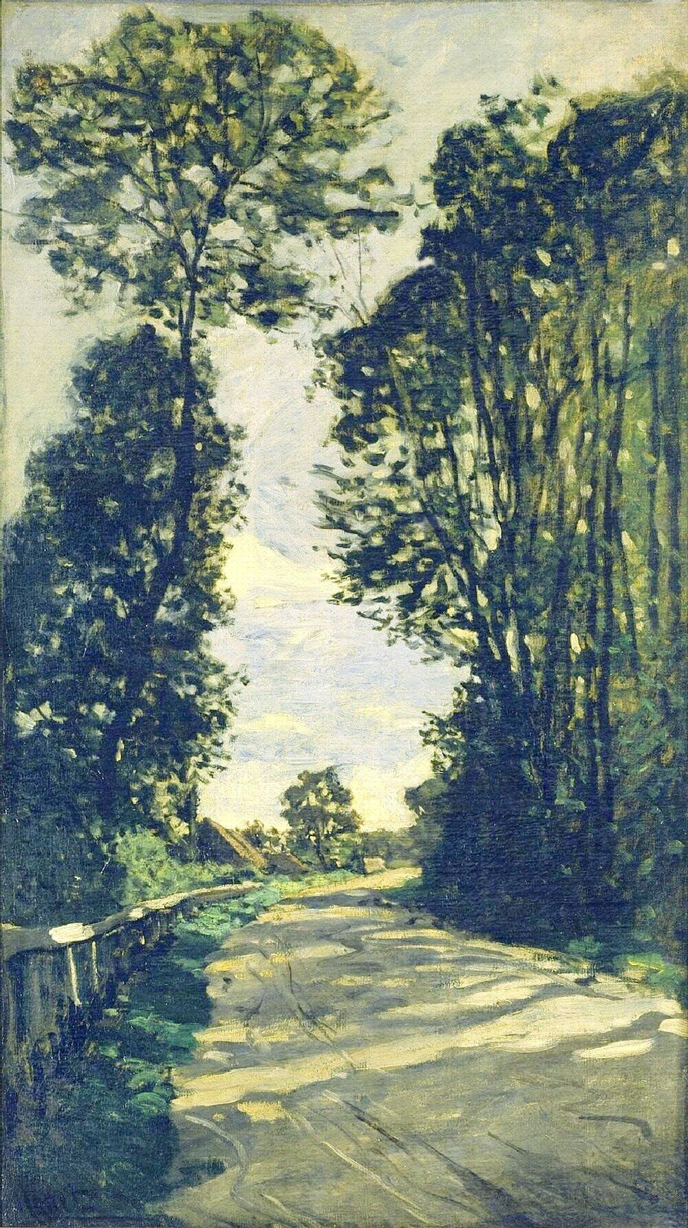 Road to the Saint-Simeon Farm, 1864