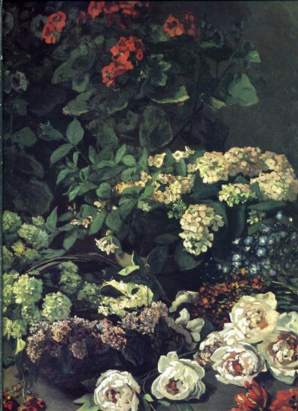 Spring Flowers, 1864 - Claude Monet