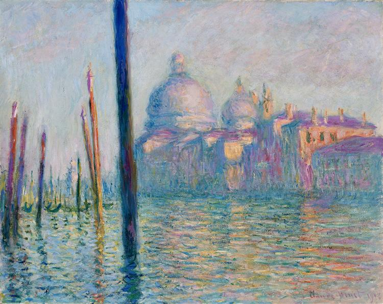 The Grand Canal in Venice 01, 1908 - Claude Monet