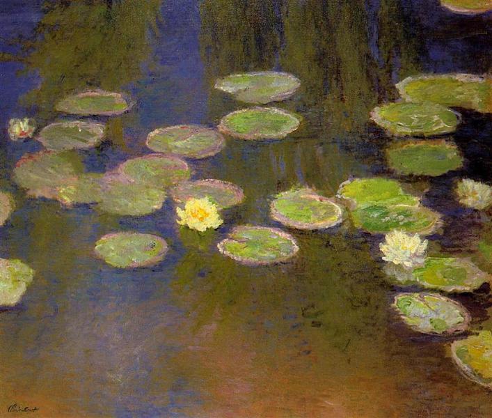 Water Lilies, 1897 - 1899 - Claude Monet