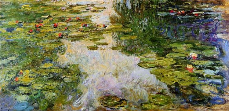 Water Lilies, 1917 - 1919 - Claude Monet