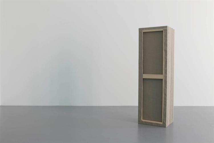 dé-finition/méthode #511:  peinture-tombeau - Claude Rutault