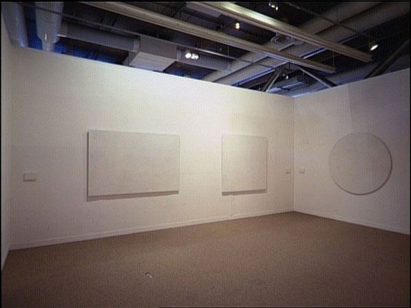 Toiles à l'unité/Légendes, 1985 - Claude Rutault