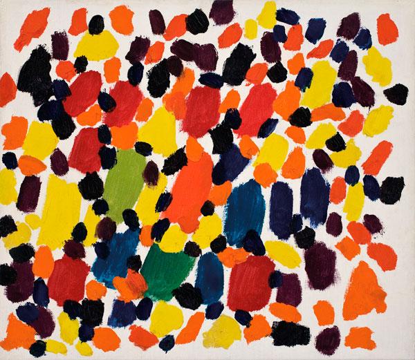 Les Taches, 1955 - Claude Tousignant