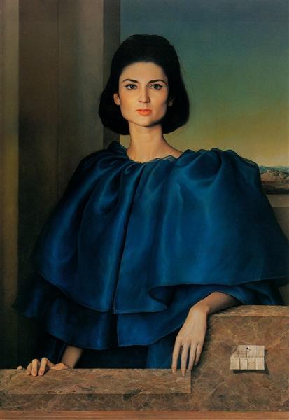 Portrait of María Luisa Velasco, 1965 - Claudio Bravo