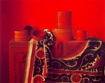 Red Still life - Клаудіо Браво