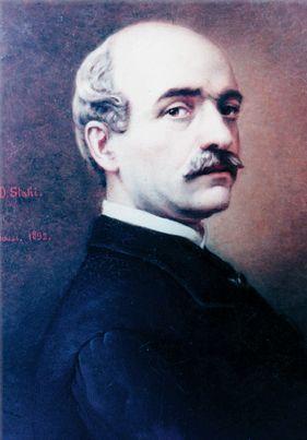 Portrait of Vasile Alecsandri, 1892 - Constantin Stahi