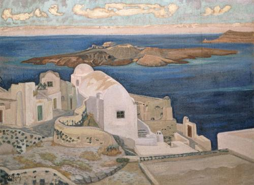 Santorini - Constantine Maleas