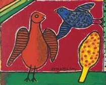 Two birds - Corneille