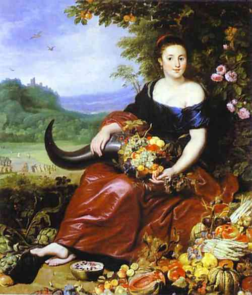 Allegory of Earth - Cornelis de Vos