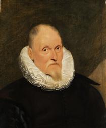 Portrait of a Dutch master - Корнелис де Вос