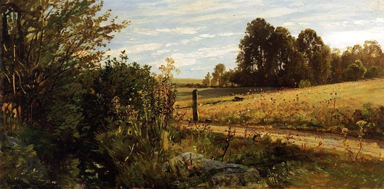A Country Road, c.1886 - Cornelis Springer
