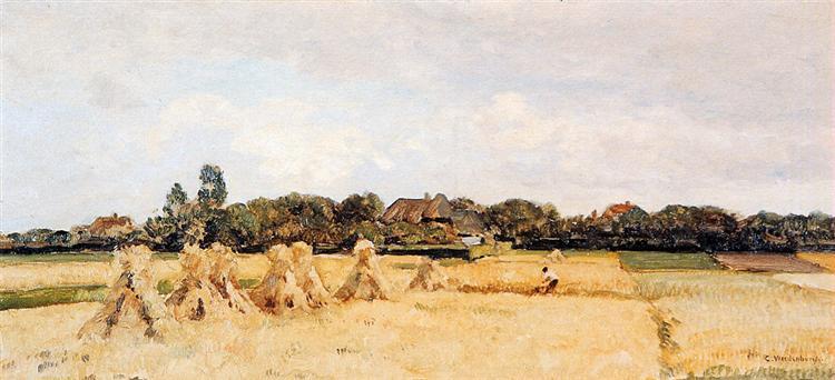 Corn Sheafs In Gooi - Cornelis Vreedenburgh