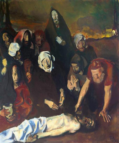 Pietà, 1986 - Corneliu Baba