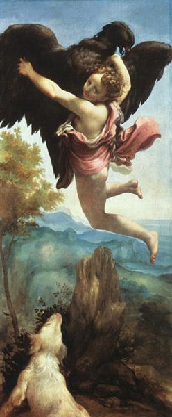 Ganymede, 1531 - 1532 - Correggio