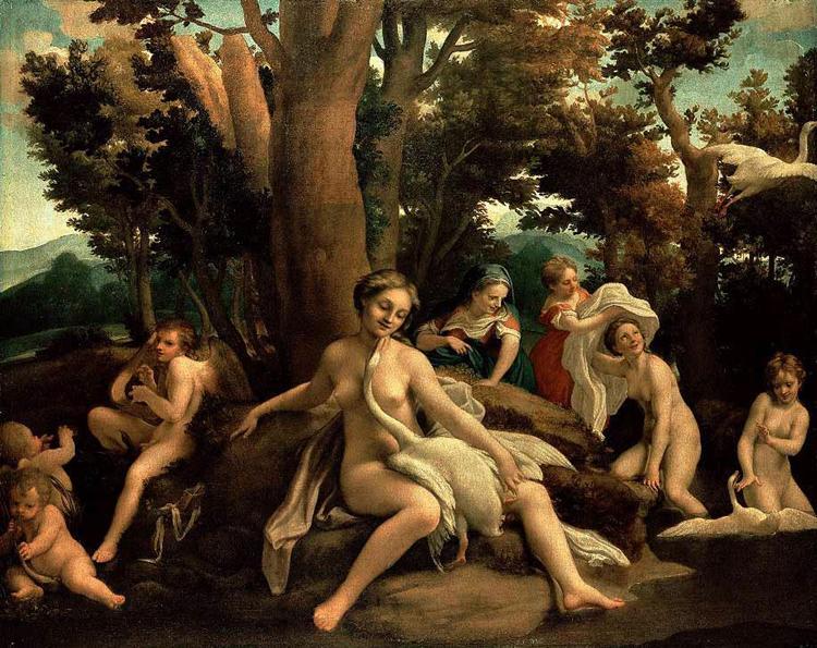 Leda and the Swan, 1531 - 1532 - Antonio da Correggio