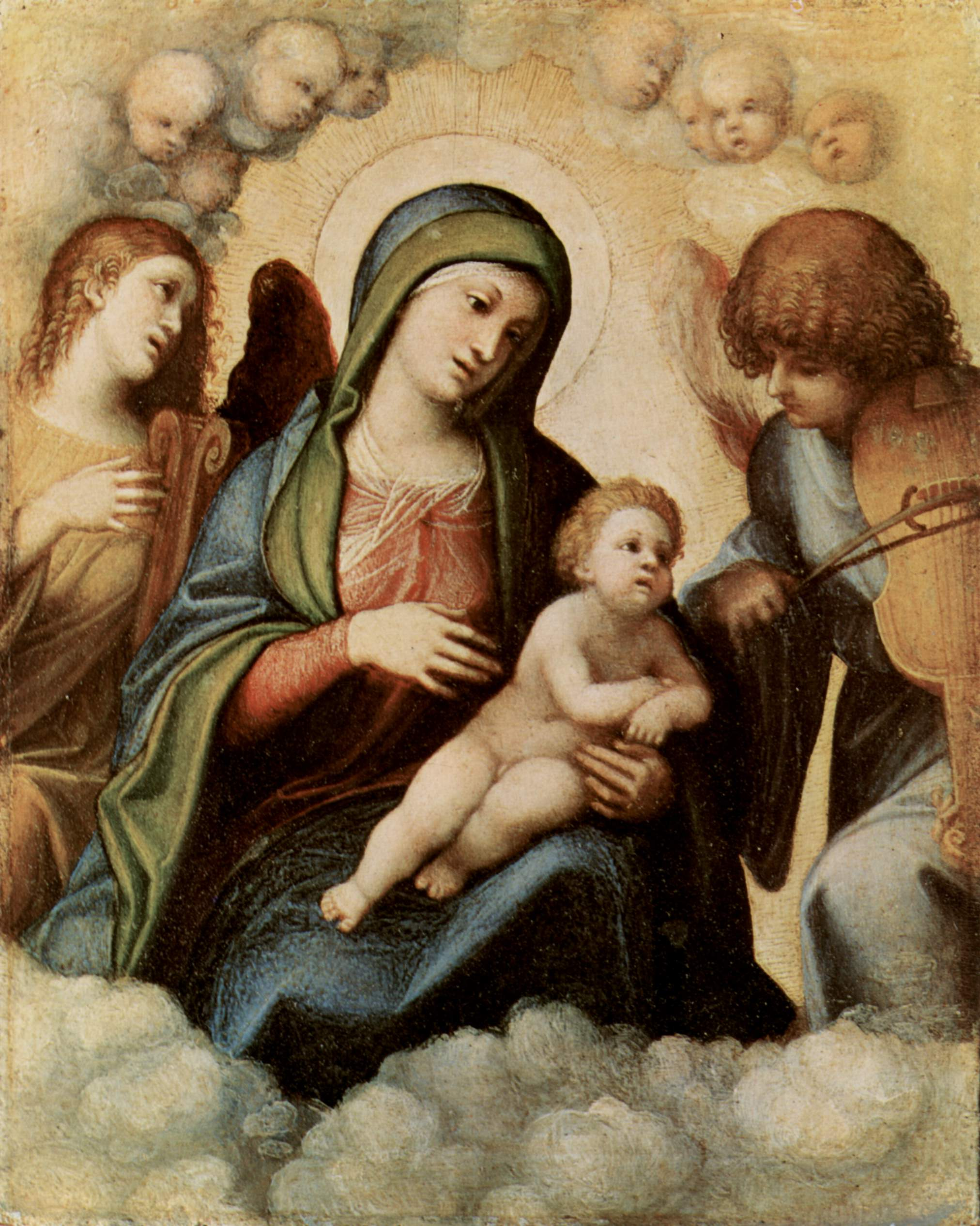 madonna and child with angels parmigianino - photo #31