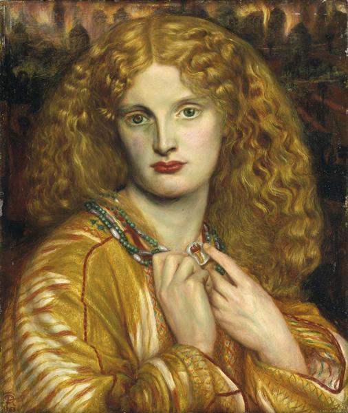 Helen of Troy, 1863 - Dante Gabriel Rossetti