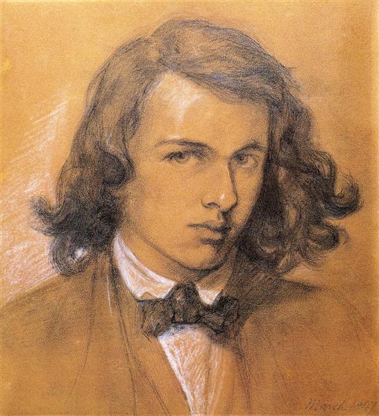 Self-Portrait - Dante Gabriel Rossetti