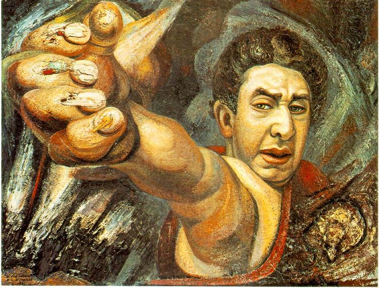 Self-Portrait, 1945 - David Alfaro Siqueiros